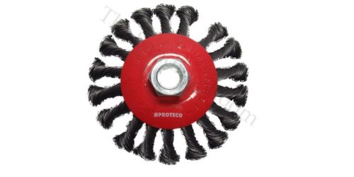 Red Knot Steel Wire Brush