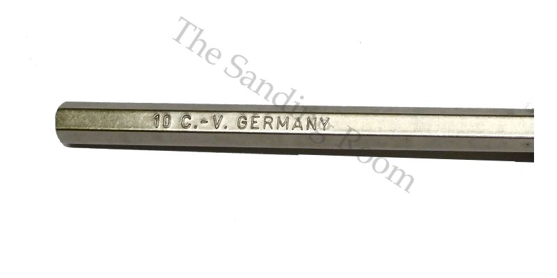 Hex Key Black Zinc Plated from Germany
