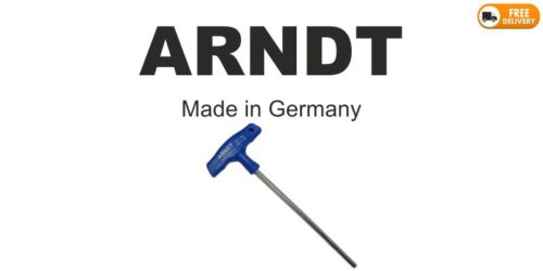 T-Handle Hex Key Blue Made in Germany