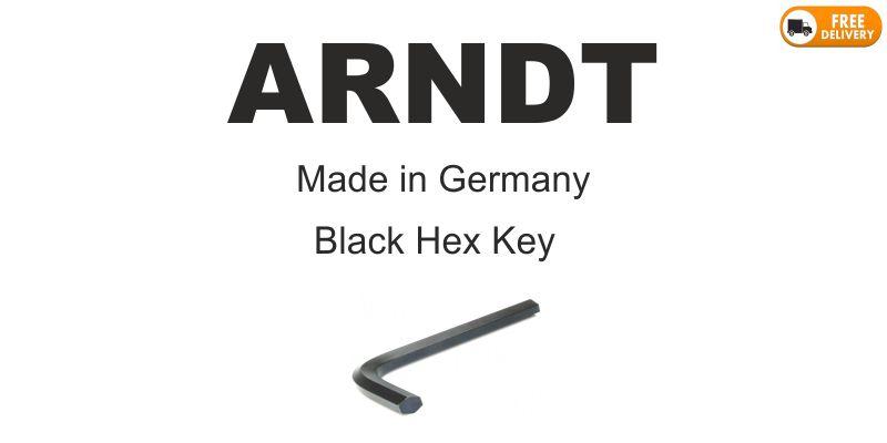 Arndt Long Black Hex Key