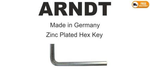 Zinc Plated Hex Key