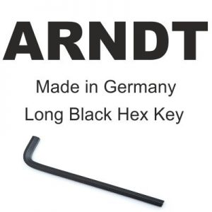 Arndt Black Long Hex Key