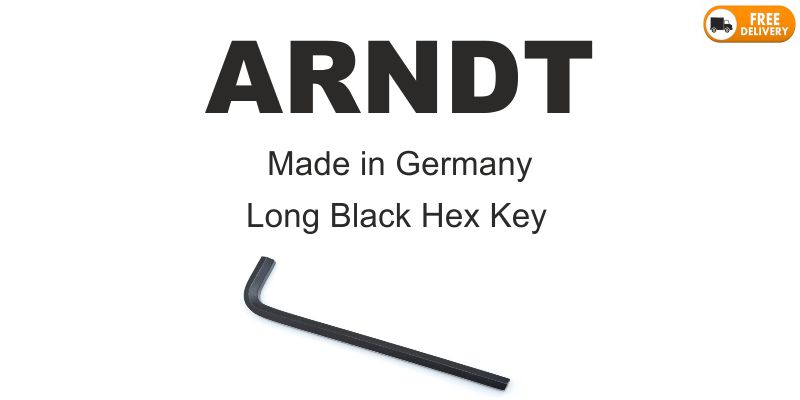 Arndt Black Long Hex Key