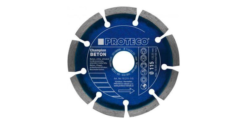 Proteco Blue Diamond Cutting Blades Segment for Angle Grinder