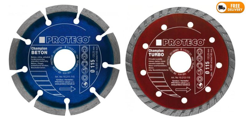 Diamond Cutting Blades Segment and Continuous for Angle Grinder