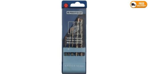Set of Masonry Twist Drill Bits