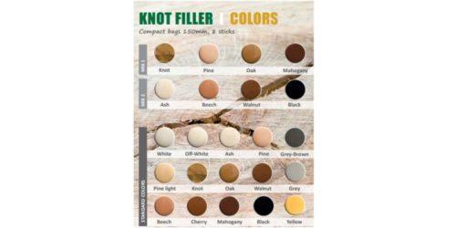 Wood repair colour scheme