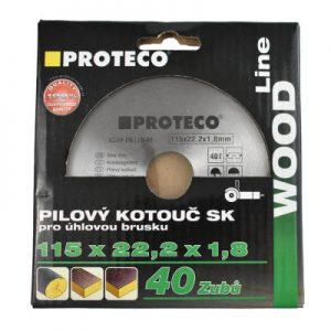 Proteco Wood Saw Blades for Angle Grinder